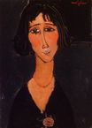 Amedeo Modigliani - Young Girl Wearing a Rose 1916
