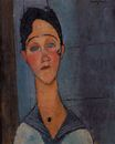 Amedeo Modigliani - Louise 1917