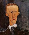 Amedeo Modigliani - Portrait of Blaise Cendrars 1917