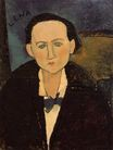 Amedeo Modigliani - Portrait of Elena Pavlowski 1917