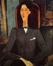 Amedeo Modigliani - Portrait of Jean Cocteau 1917
