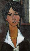 Amedeo Modigliani - Woman of Algiers. Almaisa 1917