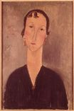 Amedeo Modigliani - Woman with earrings 1917