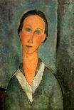 Amedeo Modigliani - Girl in a Sailor's Blouse 1918