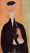 Amedeo Modigliani - Man with a Pipe. The Notary of Nice 1918