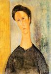 Amedeo Modigliani - Portrait of a Woman 1918