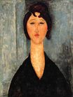 Amedeo Modigliani - Portrait of a Young Woman 1918