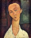 Amedeo Modigliani - Portrait of Lunia Czechowska 1918