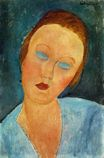 Amedeo Modigliani - Portrait of Madame Survage  1918