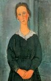 Amedeo Modigliani - Servant Girl 1918