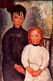 Amedeo Modigliani - Two girls 1918
