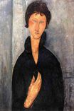 Amedeo Modigliani - Woman with Blue Eyes 1918