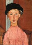Amedeo Modigliani - Young Girl in Beret 1918