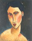 Amedeo Modigliani - Young Girl with Blue Eyes 1918