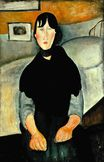 Amedeo Modigliani - Young Woman of the People 1918