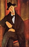 Amedeo Modigliani - Portrait of Mario Varvogli 1919