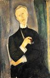 Amedeo Modigliani - Roger Dutilleul 1919