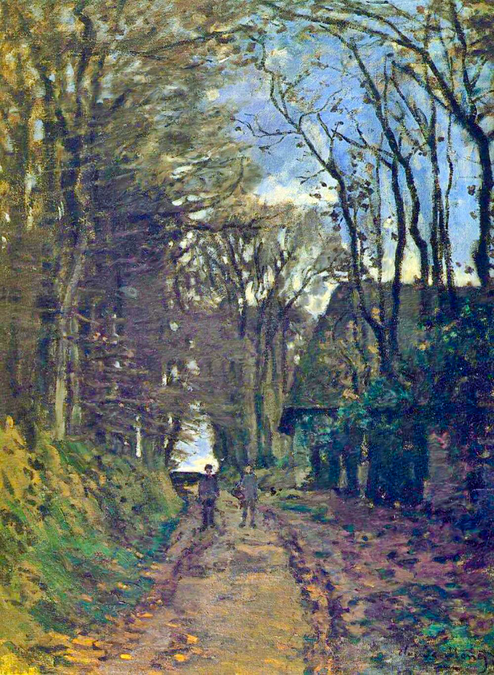 Claude Monet - Lane in Normandy 1868