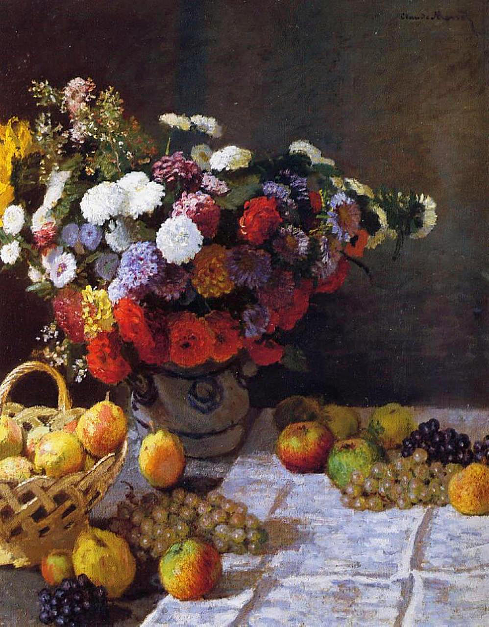 Claude Monet - Flowers and Fruit 1869