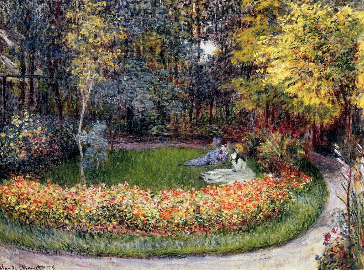 Claude Monet - In the Garden 1875