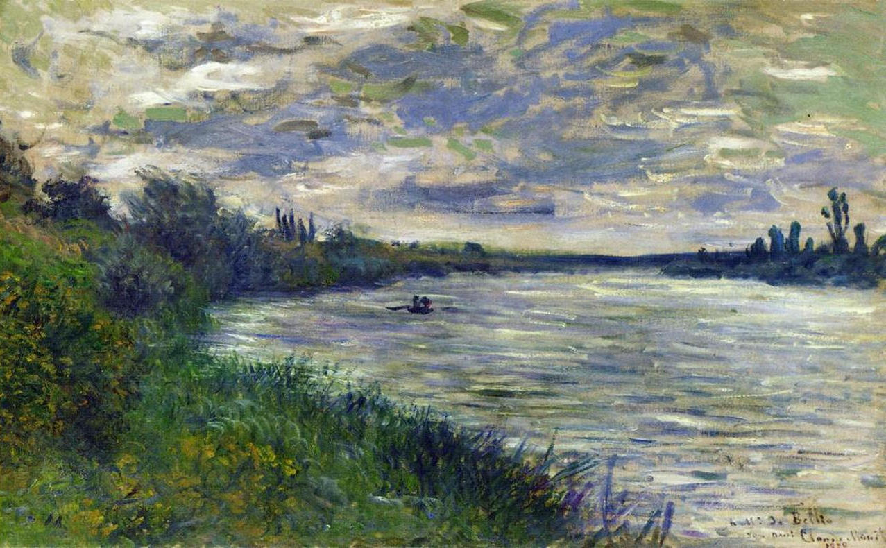 Claude Monet - The Seine near Vetheuil, Stormy Weather 1878