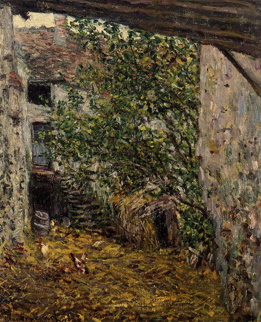 Claude Monet - Farmyard 1878