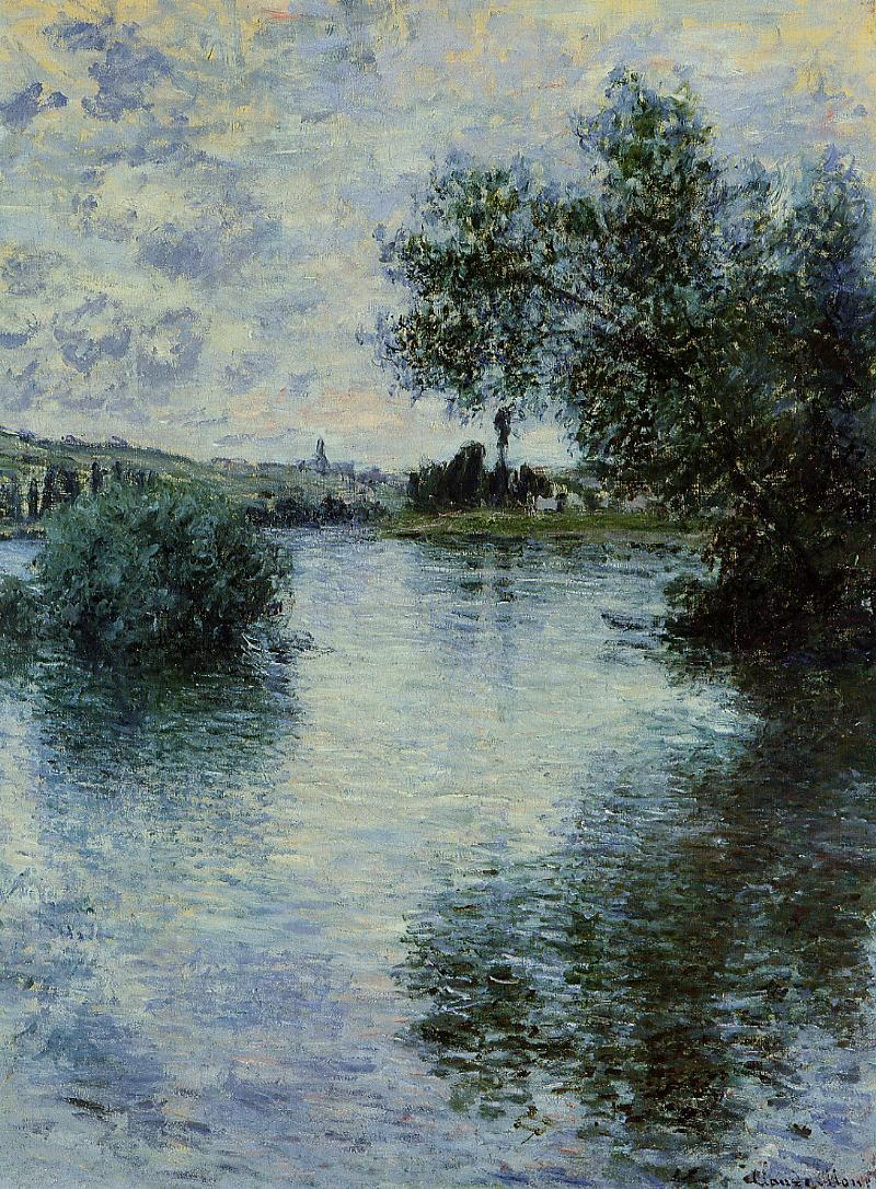 Claude Monet - The Seine at Vetheuil 1879