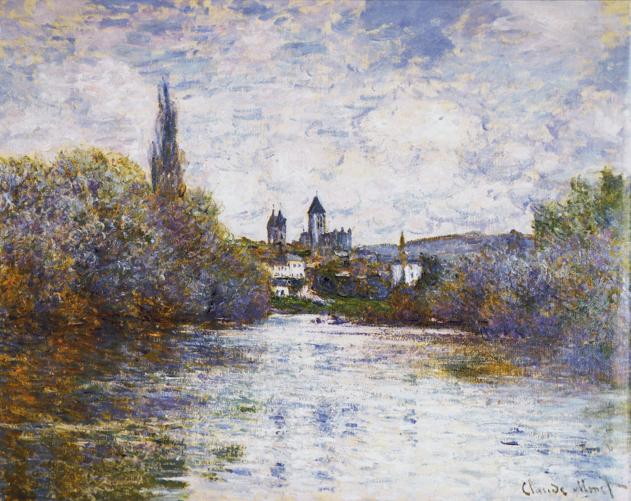 experiencing vetheuil essay Examples of college essays thursday, november 28, 2013 claude monet.