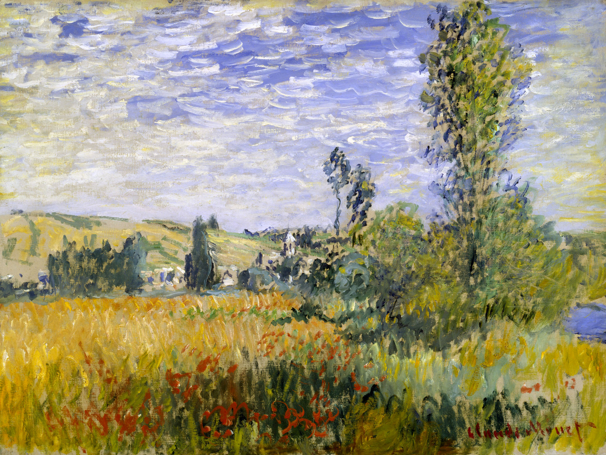 Claude Monet - Vetheuil 1880