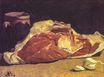 Claude Monet - Still life with meat 1862