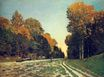 Claude Monet - The Road from Chailly to Fontainebleau 1864