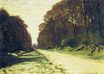 Claude Monet - Road in a Forest Fontainebleau 1864