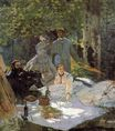 Claude Monet - Lunch on the Grass, central panel 1865