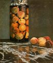 Claude Monet - Jar of Peaches 1866