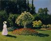 Claude Monet - Jeanne-Marguerite Lecadre in the Garden 1866