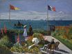 Claude Monet - Garden at Sainte-Adresse 1867