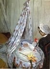 Claude Monet - Jean Monet in the Craddle 1867