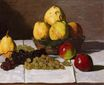 Claude Monet - Still Life with Pears and Grapes 1867