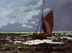 Claude Monet - Stormy Seascape 1867