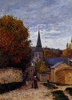 Claude Monet - Street in Saint-Adresse 1867