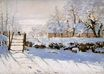 Claude Monet - The Magpie 1869