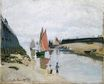 Claude Monet - Entrance to the Port of Trouville 1870