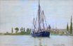 Claude Monet - The Sailing Boat 1871