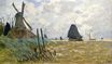 Claude Monet - Windmill near Zaandam 1871