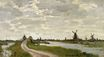 Claude Monet - Windmills at Haaldersbroek, Zaandam 1871