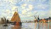 Claude Monet - Zaan at Zaandam 1871