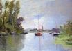 Claude Monet - Argenteuil Seen from the Small Arm of the Seine 1872