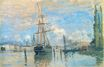 Claude Monet - Seine at Rouen 1872