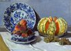 Claude Monet - Still Life with Melon 1872