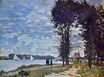 Claude Monet - The Banks of the Seine at Argenteuil 1872